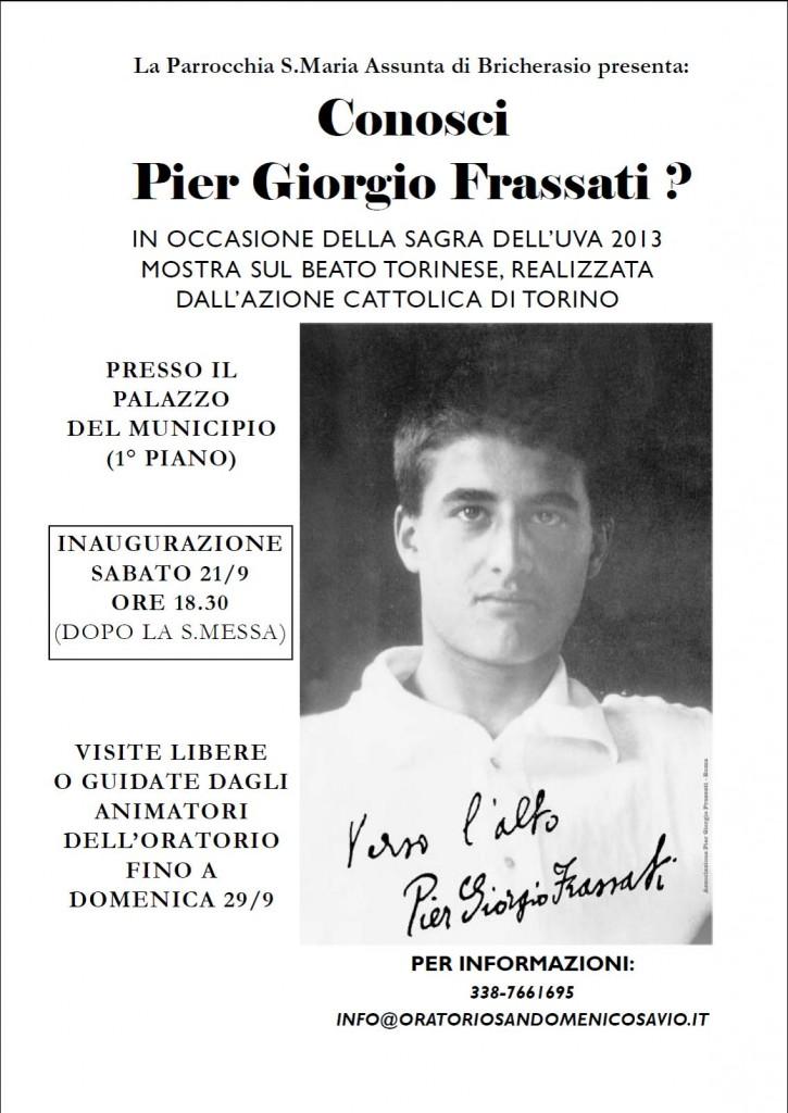 Mostra Frassati Bricherasio Settembre 2013