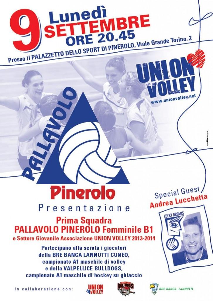 Presentazione Pallavolo Pinerolo 9 settembre 2013