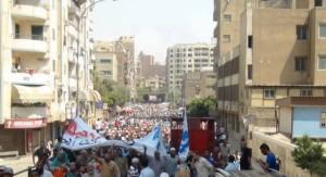 Manifestazione in Egitto (foto facebook.com/EgyptRevolutionOrAnarchy?fref=ts)