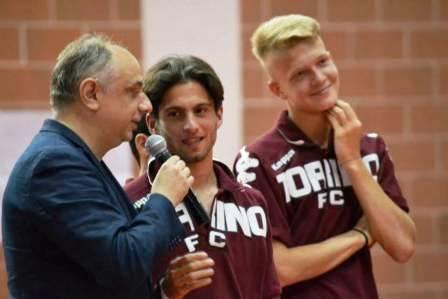"""A Cantalupa la presentazione delle squadre """"Berretti"""" e Allievi"""" del Torino FC"""