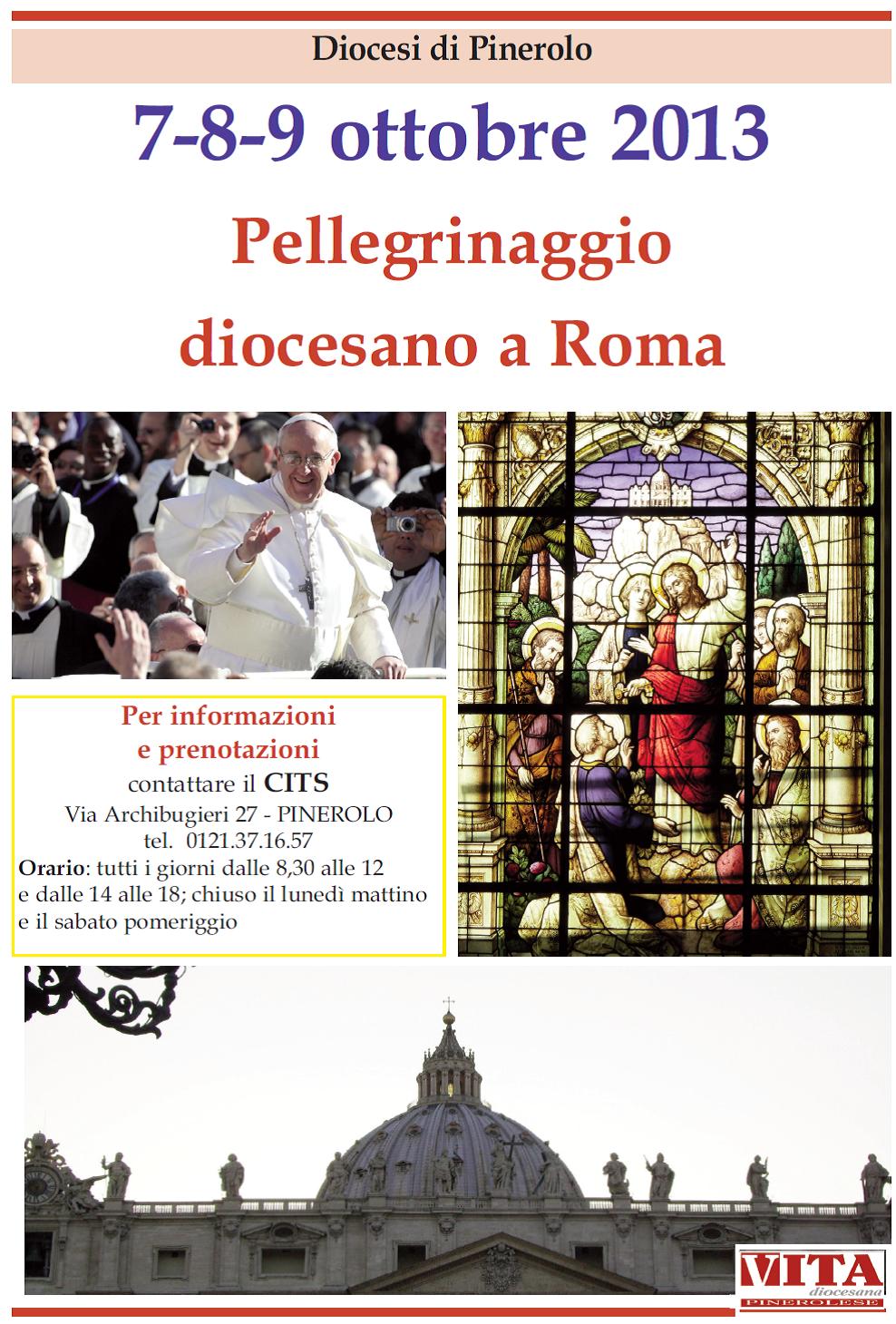 Diocesi di Pinerolo: l'Anno della Fede si conclude a Roma