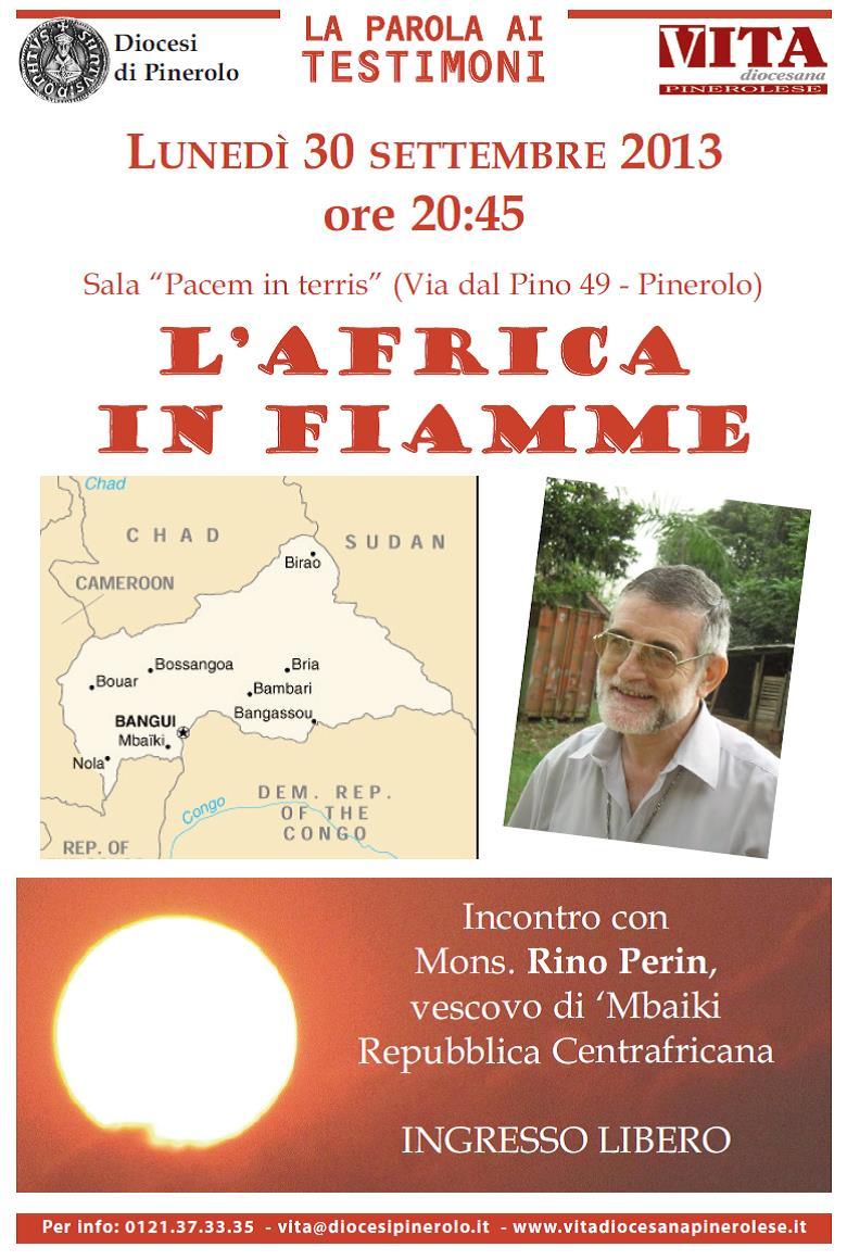 Monsignor Perin racconta la Repubblica Centrafricana