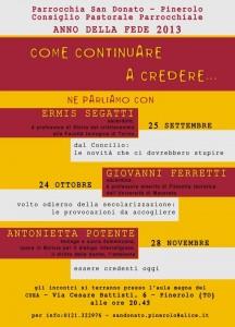 tre incontri San Donato