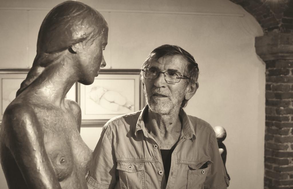Sergio Unia espone alla galleria Losano