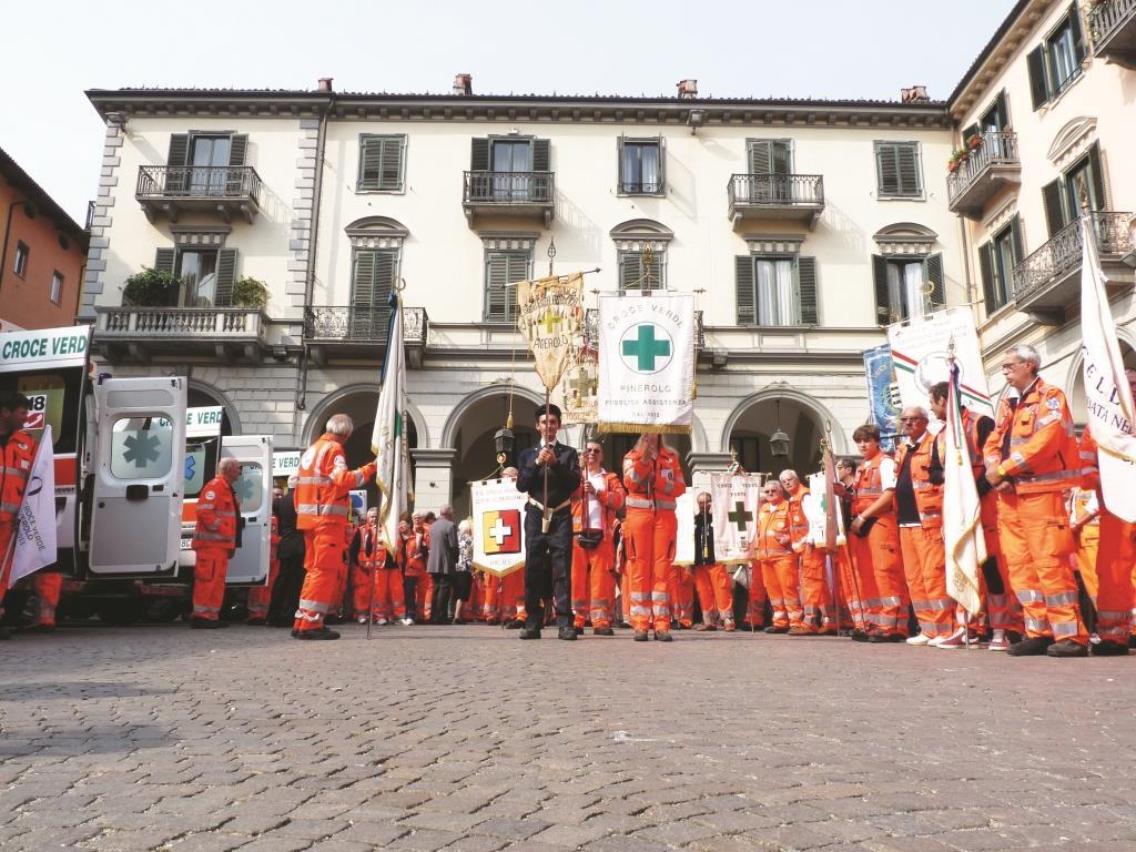 Il 21 e 22 settembre celebrata la festa per i 100 anni della Croce Verde di Pinerolo