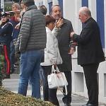 Il sindaco di Pinerolo Eugenio Buttiero e il vescovo Pier Giorgio Debernardi alla Turck