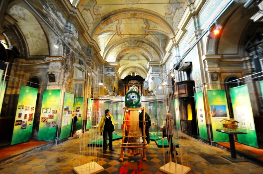 """[ Photogallery ] Inaugurata oggi a Pinerolo la mostra """"La pietra verde del Monviso"""""""