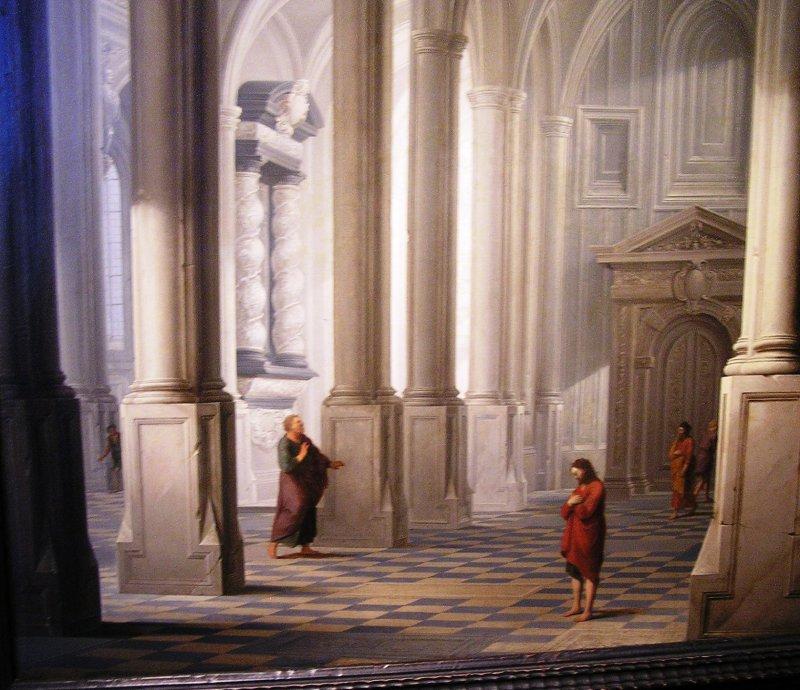 Due uomini salirono al tempio…