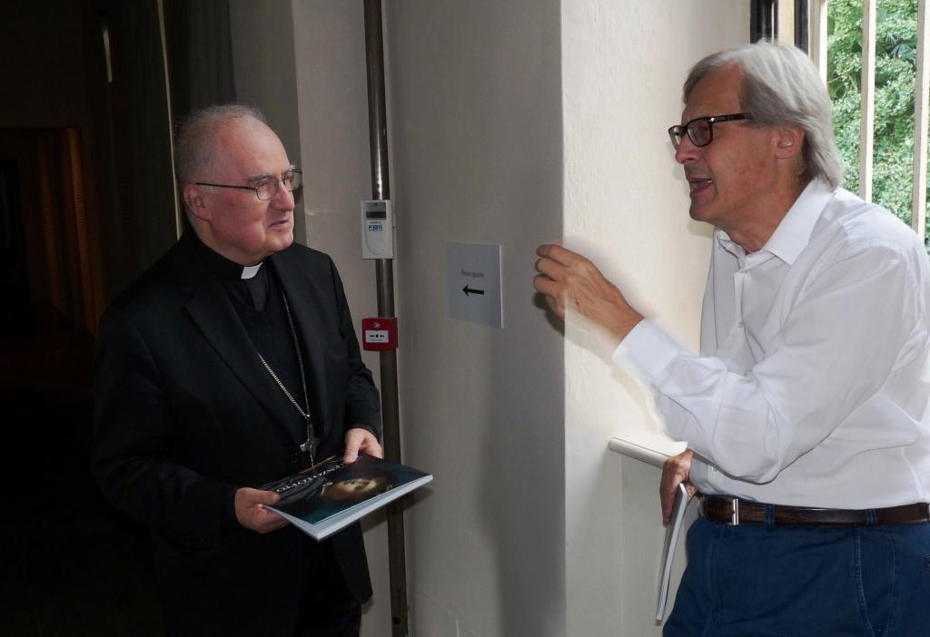 """A Miradolo Sgarbi inaugura la mostra """"Lorenzo Lotto – I volti e l'anima"""""""