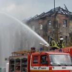 L'intervento dei Vigili del fuoco (Foto W. Molinero)