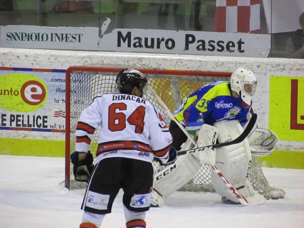 [Hockey] Borelli para di tutto, la Valpe si arrende al Cortina