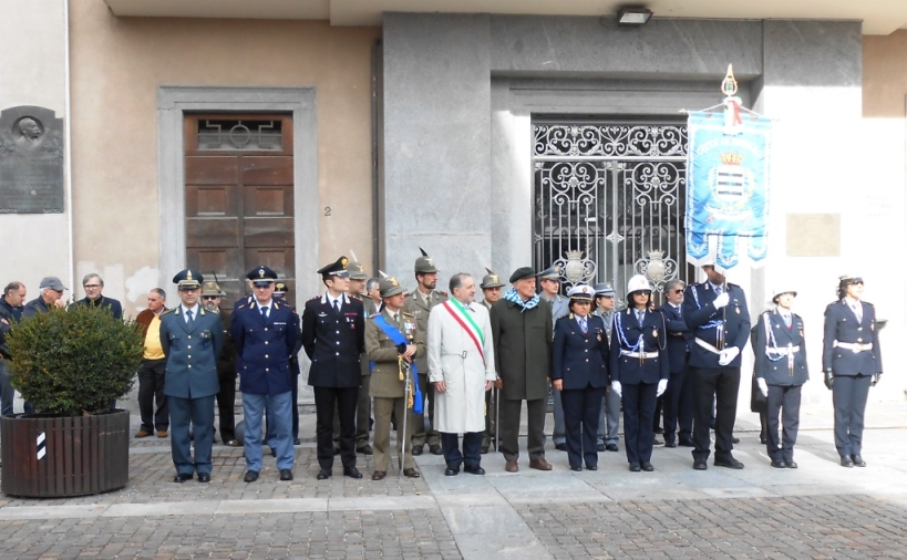 [ Photogallery] Commemorazione dei caduti a Pinerolo