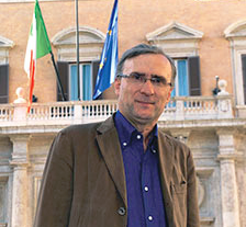 """Giorgio Merlo presenta a Pinerolo il suo ultimo libro """"Ricambio. Bluff o qualità?"""""""