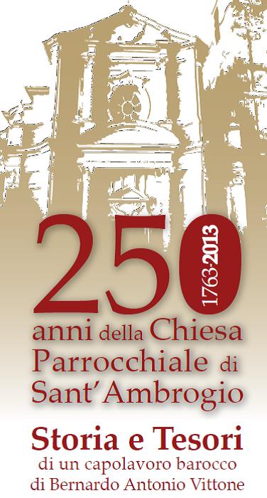 250 anni di storia per la Chiesa parrocchiale di Sant'Ambrogio