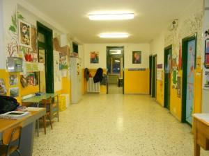 Atrio della scuola media di Perrero