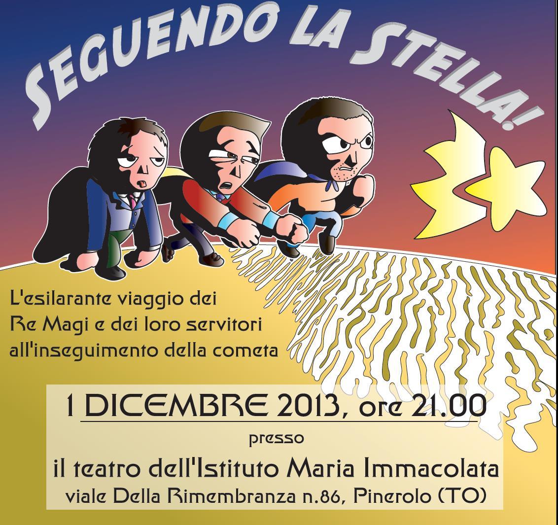 Pinerolo. Domenica 1 dicembre spettacolo teatrale benefico all'IMI