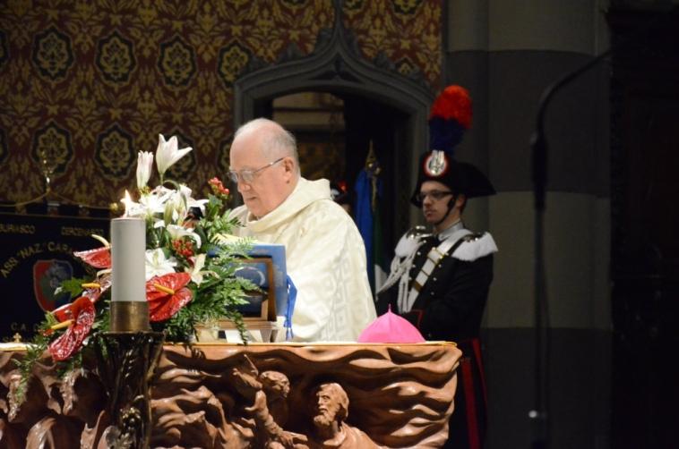 "I carabinieri in cattedrale per la ""Virgo Fidelis"""