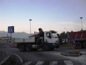 La rotonda del Basko (ore 16:45)