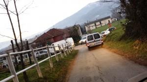 Il traffico in strada vecchia San Giovanni