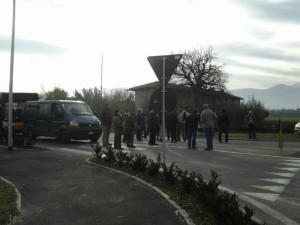 Pinerolo. Bloccato l'ingresso di Via Saluzzo (ore 14:45)