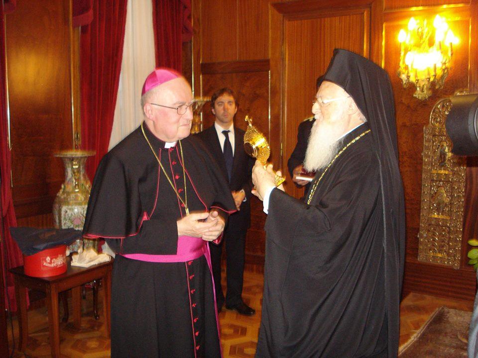 [Photogallery] Il vescovo Debernardi ha incontrato il patriarca Bartolomeo I ad Istanbul