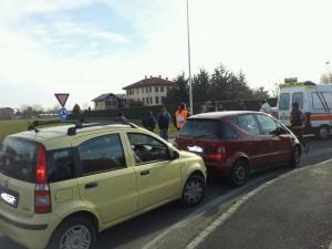 Presidiata la rotonda di Via Saluzzo, il transito viene consentito solo alle autoambulanze.