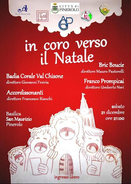 """Pinerolo. Il 21 dicembre """"In coro verso il Natale"""" nella basilica di San Maurizio"""
