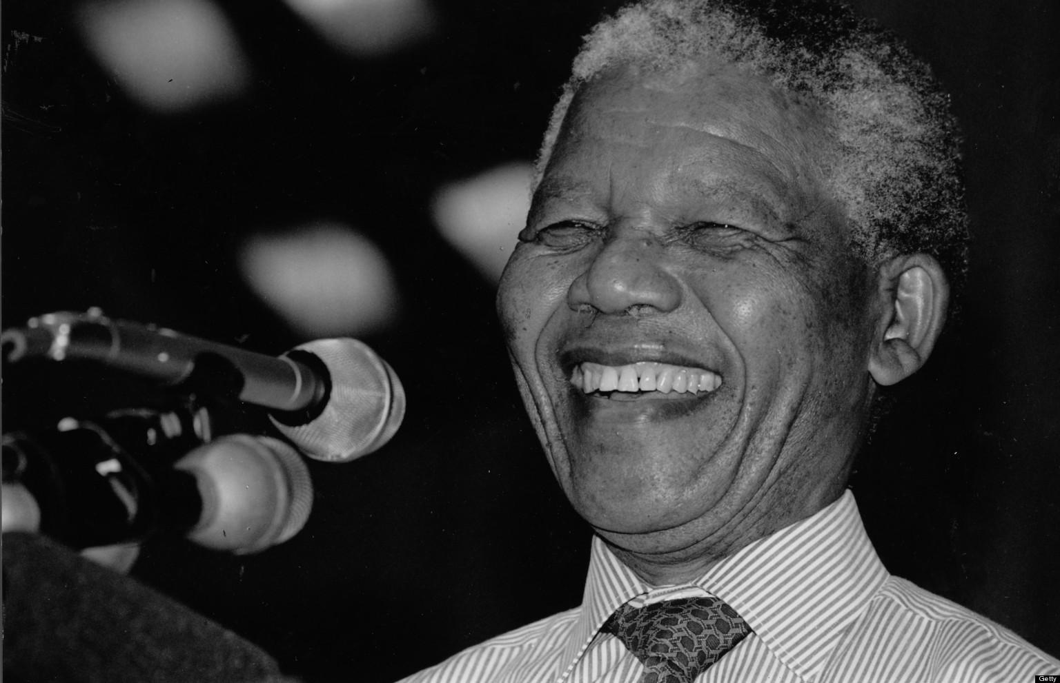 Addio, Nelson Mandela