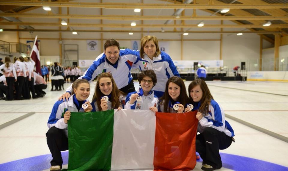 Curling: 3S Luserna ai Mondiali juniores