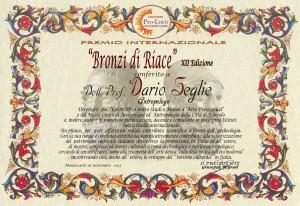 Dario-Seglie-pergamena-autografa-del-Presidente-Tripodi