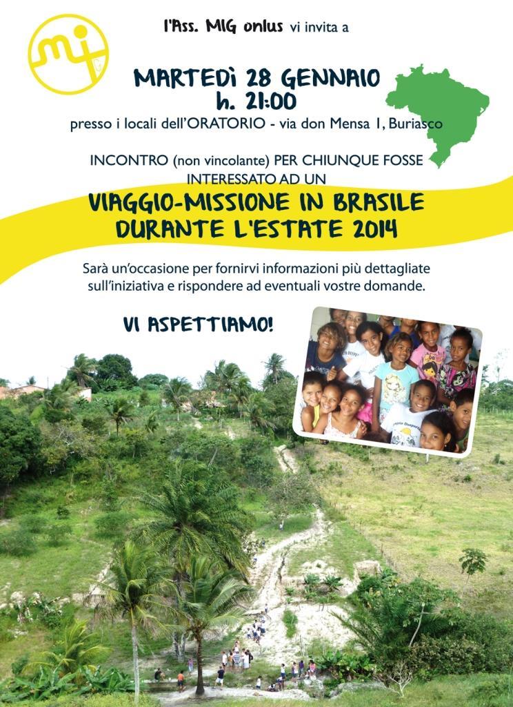 In Brasile con il Gruppo Missioni Giovani