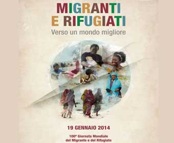Messaggio di Papa Francesco per la Giornata del Migrante e del Rifugiato