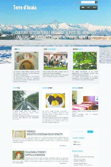 Il centro studi Silvio Pellico ha lanciato un nuovo sito per promuovere il territorio