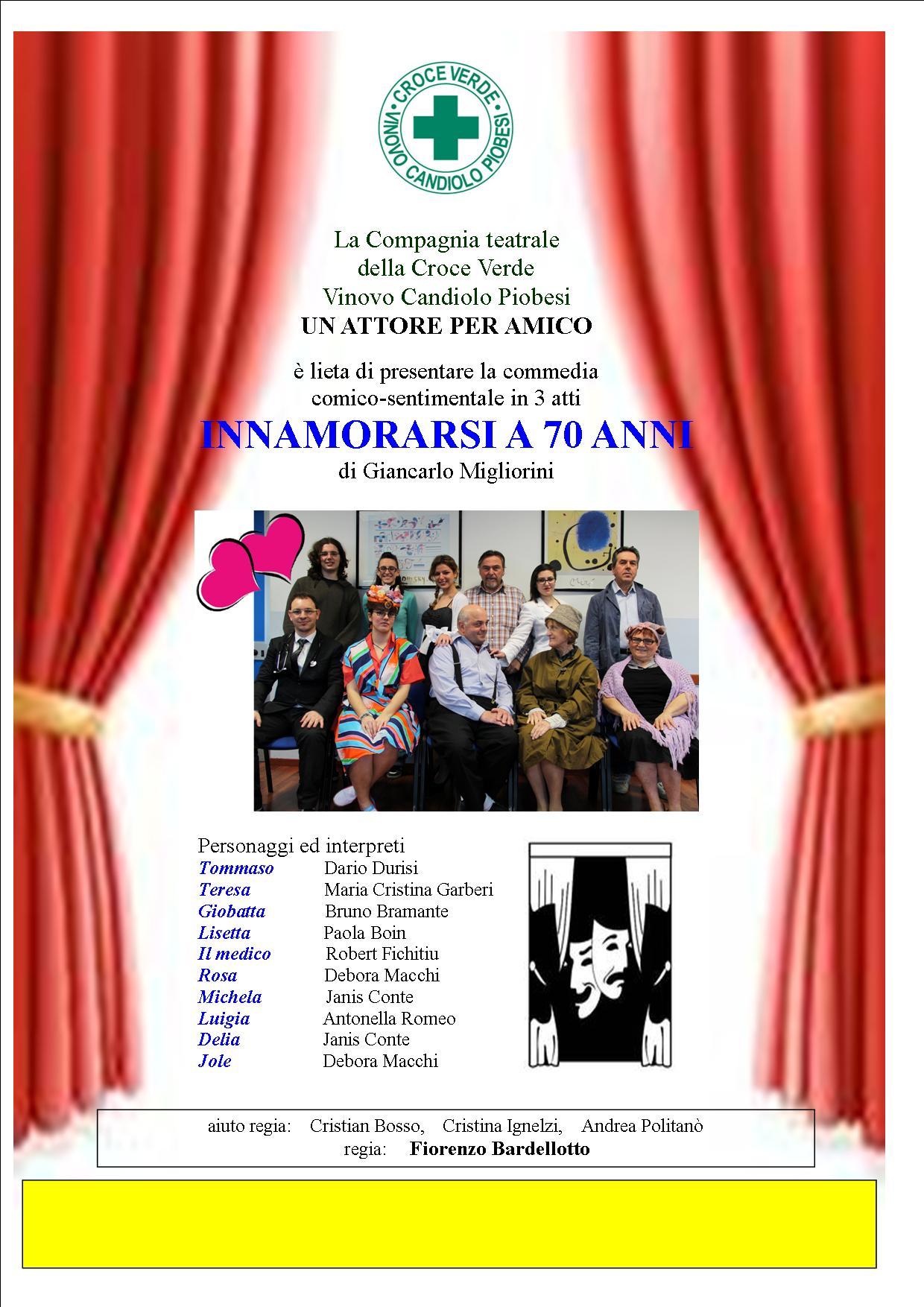 A teatro con la Croce verde Vinovo-Candiolo-Piobesi