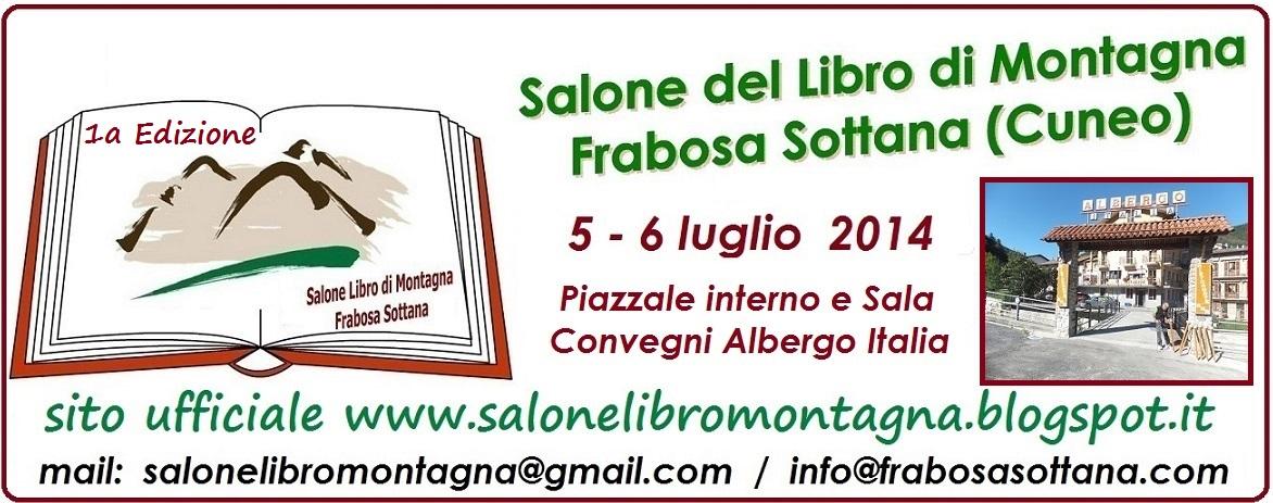 """A luglio Frabosa Sottana ospiterà la prima Edizione del """"Salone del Libro di Montagna"""""""