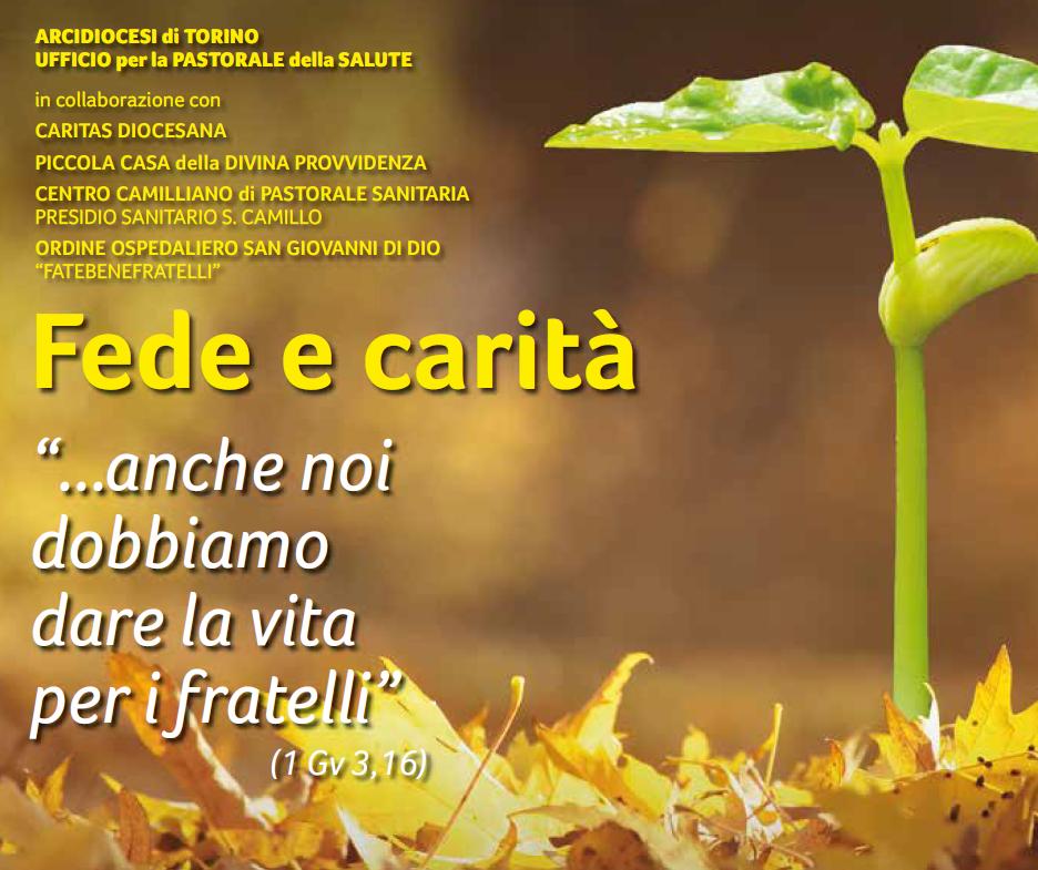 L'8 febbraio a Torino un convegno per la Giornata Mondiale del Malato