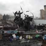 Ucraina, 20 febbraio: foto dalle piazze di Kiev dove prosegue la protesta