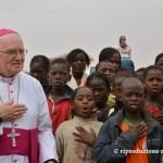 Mons. Debernardi in Burkina Faso