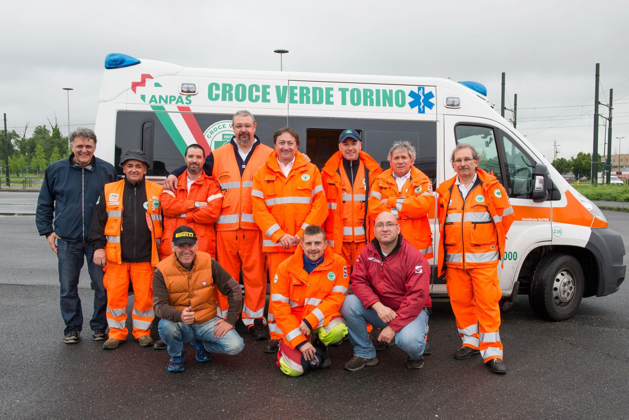 Croce Verde Torino promuove la scuola guida conducenti mezzi di soccorso