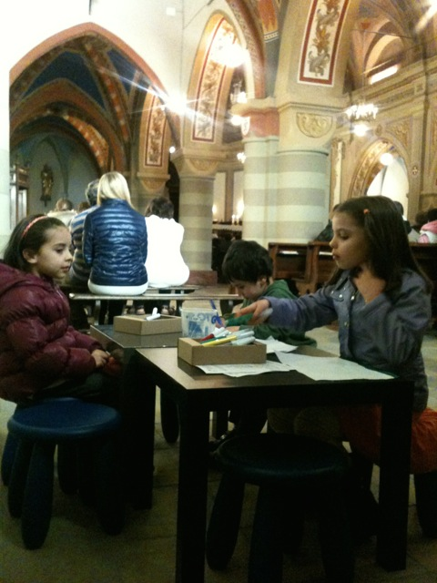 Bambini in chiesa. Valter Mosca: sono più fastidiosi alcuni adulti!