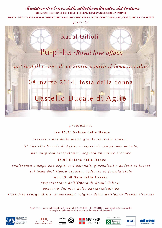 8 marzo al Castello di Aglié
