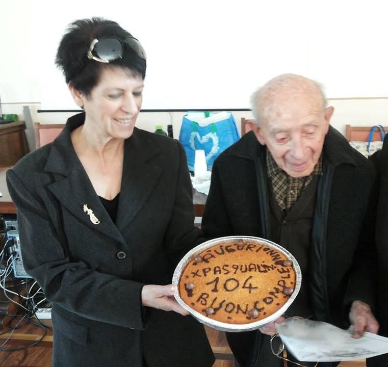 CVS in festa per i 104 anni di Pasqualino Ricossa