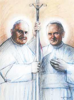 Domenica 27 aprile la proclamazione della santità di Giovanni XXIII e Giovanni Paolo II