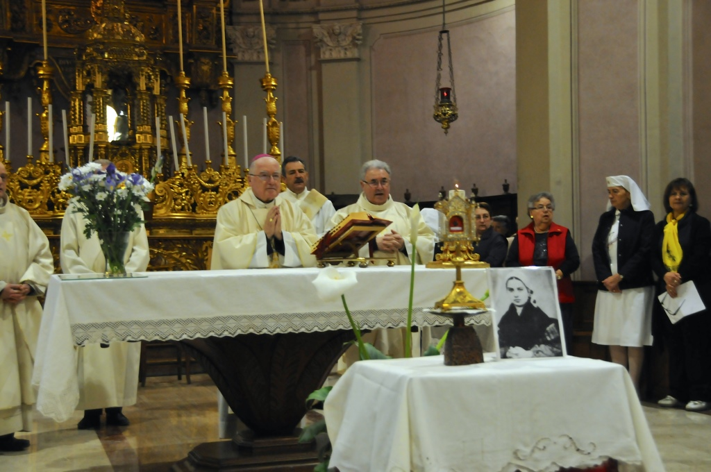 [ photogallery ] Le reliquie di Bernardette da Pinerolo a  Buriasco