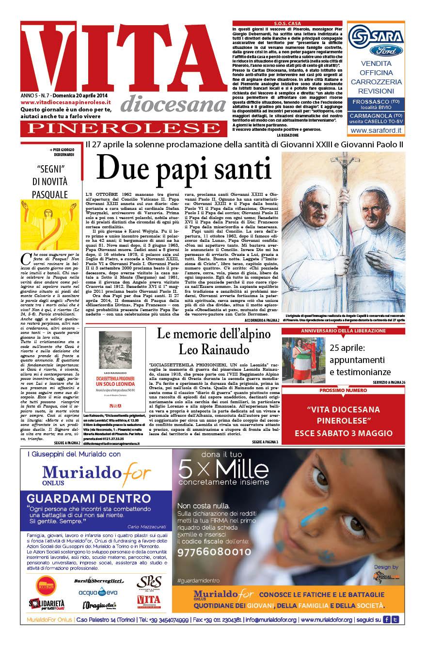 N. 7 Domenica 20 Aprile 2014
