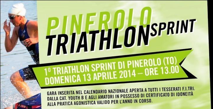 Pinerolo. Domenica 13 aprile la prima edizione del Triathlon Sprint