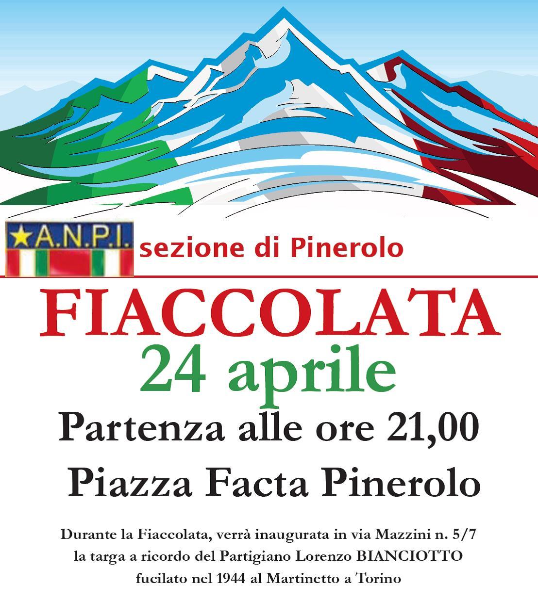 25 aprile a Pinerolo