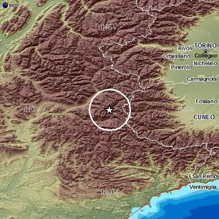 #terremoto – Il sisma di magnitudo 5 è stato avvertito dalla Costa azzurra fino a Torino