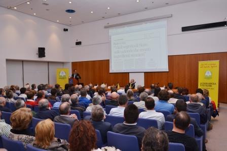 Al Lingotto assemblea Coldiretti Torino