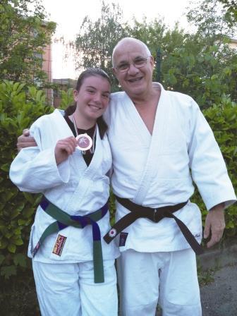Noemi del Judo Club Pinerolo medaglia d'oro al Campionato Nazionale UISP